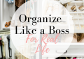 How to Organize your Closet like a Boss featured by top US fashion blog, LuxMommy: closet organization, container store, jewelry organization, drawer organization, simple organization