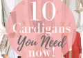 Top 10 Cute Cardigans You Need Now featured by top US fashion blog, LuxMommy