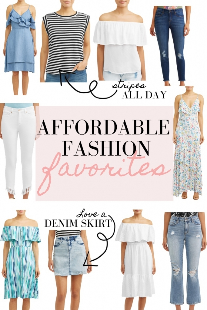 Favorite Affordable Fashion at Walmart featured by top US fashion blog, LuxMommy
