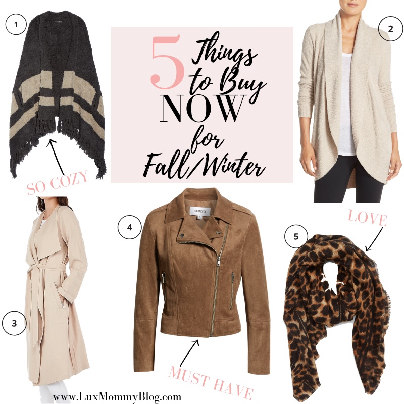 Top 5 Fall Winter Wardrobe Essentials to Buy NOW featured by top US fashion blog, LuxMommy
