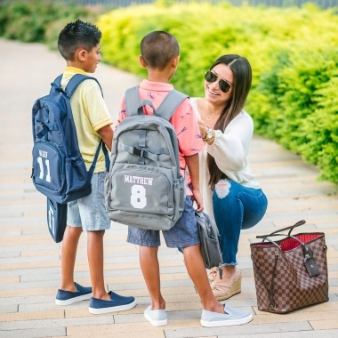 3 Affordable Back to School Outfits featured by top US fashion blog, LuxMommy