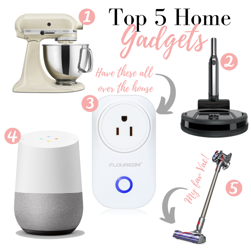 Top 5 Best Home Gadgets featured by top US lifestyle blog, LuxMommy