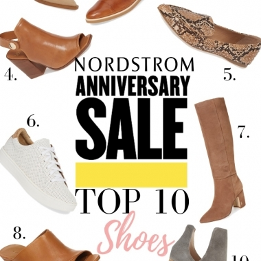 Nordstrom Anniversary Sale: Top 10 Shoes featured by top US fashion blog, LuxMommy