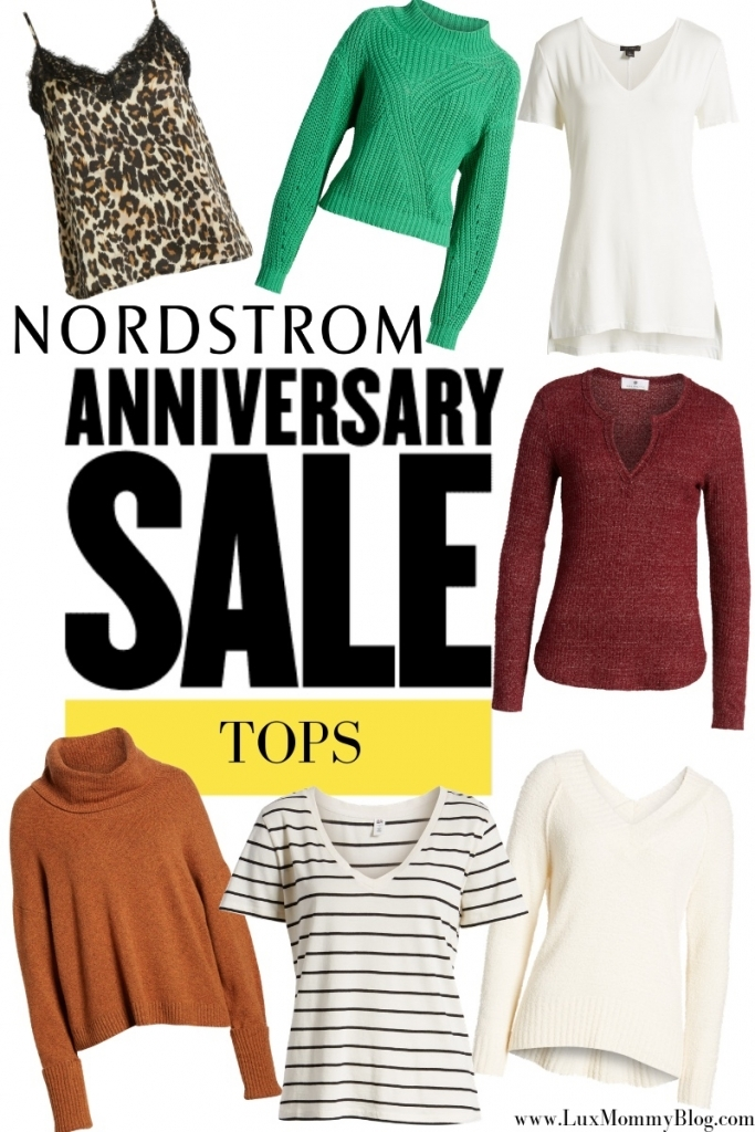 Nordstrom Anniversary Sale: Best Tops, featured by top US fashion blog, LuxMommy