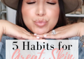 LuxMommy, Houston fashion blogger shares her best tips for great skin
