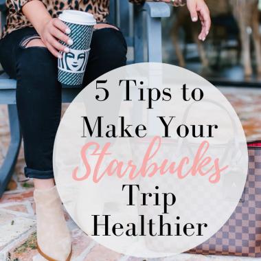 Houston fashion blogger shares her Starbucks tips and tricks