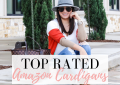 Houston top fashion blogger LuxMommy shares her top rated amazon cardigans