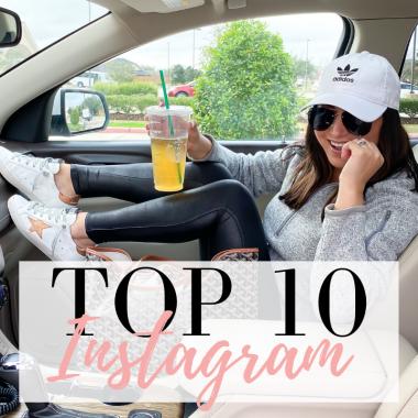 Top 10 instagram posts