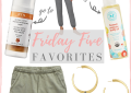 Houston fashion blogger LuxMommy shares her weekly friday five favorites