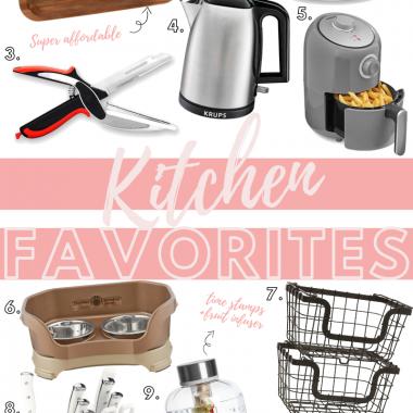 Houston top fashion blogger LuxMommy shares her top kitchen favorites