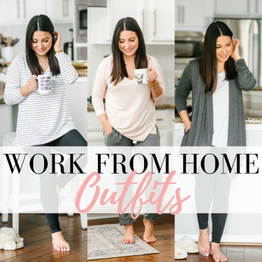 Houston top fashion blogger LuxMommy shares some casual work from home outfits