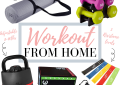 Houston top fashion blogger shares Workout from home ideas
