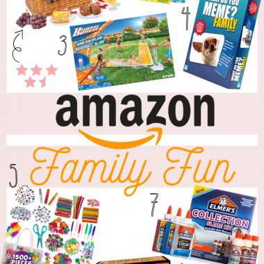 Houston fashion blogger LuxMommy shares Amazon family fun ideas