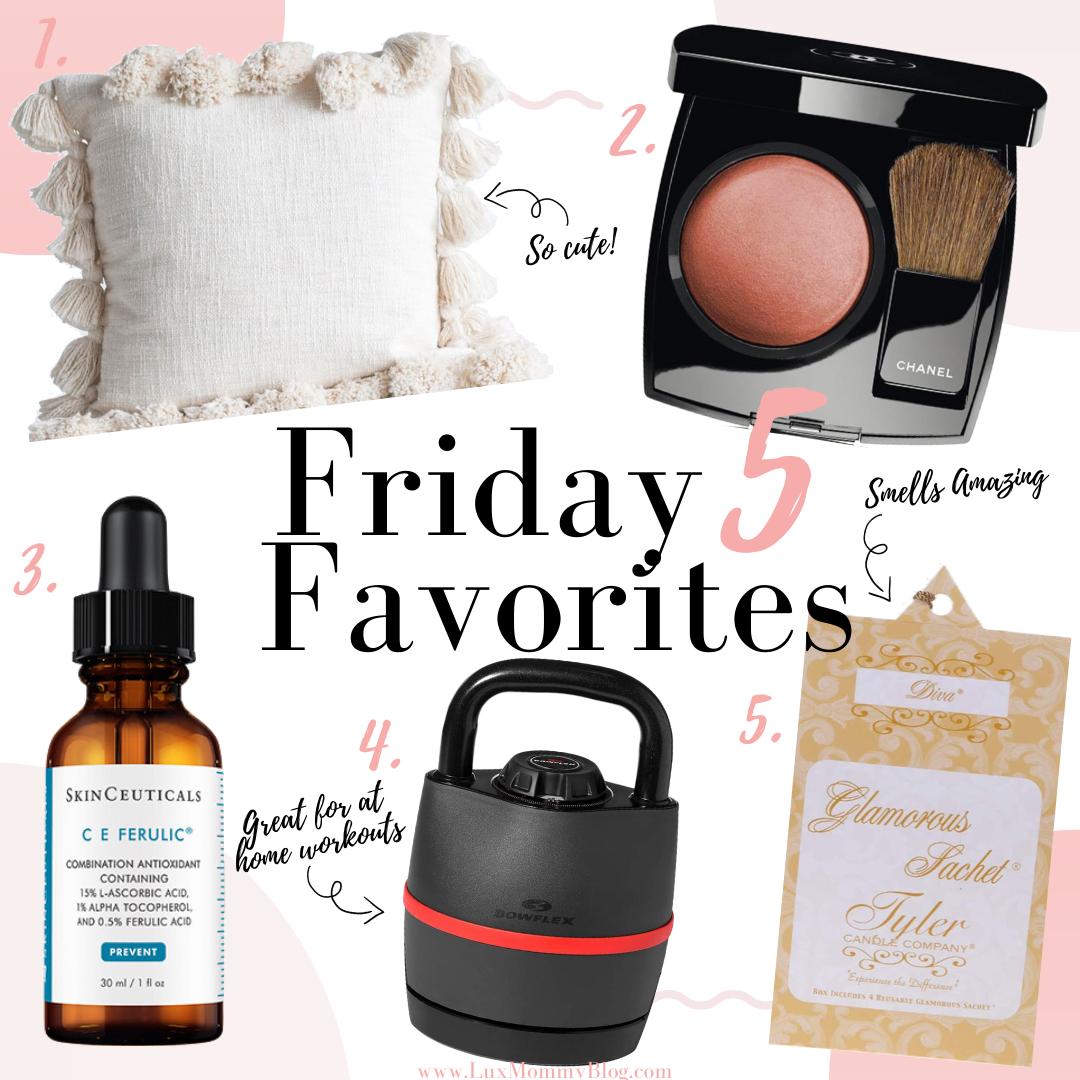 Houston Lifestyle Blogger LuxMommy Shares Her Friday 5 Favorites for 5/1/2020