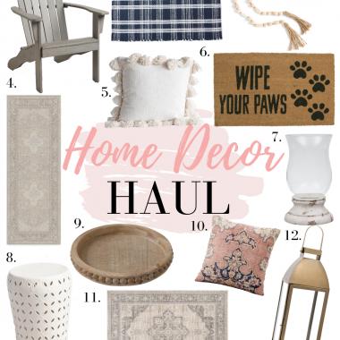 Houston blogger LuxMommy shares her home decor haul sneak peek