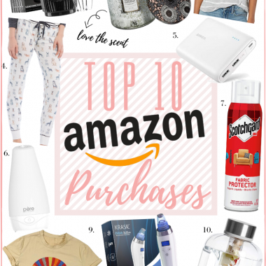 LuxMommy Houston fashion blogger shares her Top 10 Amazon buys