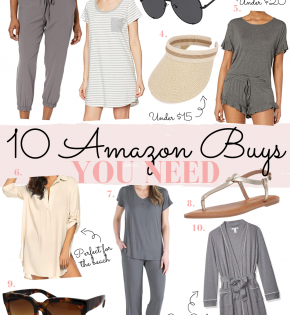 Houston Fashion and Lifestyle Blogger LuxMommy shares 10 Amazon Buys You Need