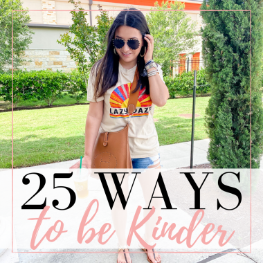 Houston lifestyle blogger LuxMommy shares 25 ways to be kinder