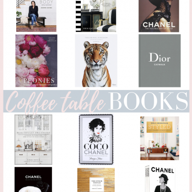 Houston top fashion blogger shares her Coffee Table Book Collection