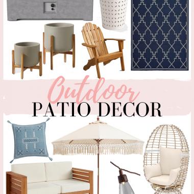 Houston Fashion and Lifestyle Blogger LuxMommy Shares Outdoor Patio Decor Ideas