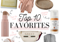 LuxMommy fashion blogger shares her monthly top 10 favorites