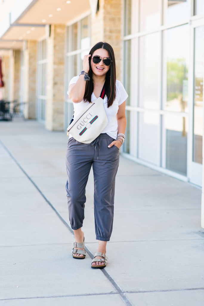 Houston top fashion blogger LuxMommy shares $22 lounge pants you need for Summer