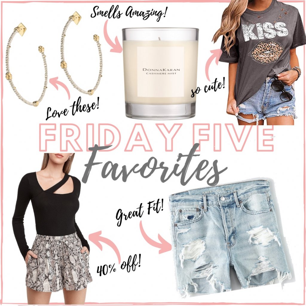 Houston fashion and lifestyle blogger shares her weekly Friday five favorites