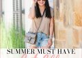 Houston fashion blogger LuxMommy shares her top summer must have cut offs