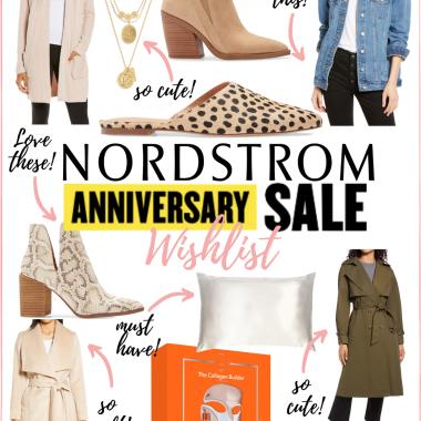 Houston fashion blogger LuxMommy shares her Nordstrom Anniversary sale wishlist
