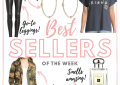 Houston fashion and lifestyle blogger, LuxMommy shares the best sellers of the week.