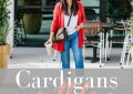 Fashion and lifestyle blogger, LuxMommy shares her favorite cardigans for the fall season.