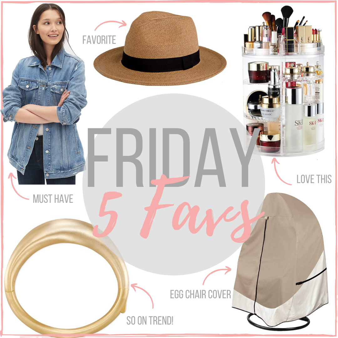 Houston top fashion blogger LuxMommy shares her weekly Friday 5 favorites