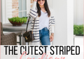 The Cutest striped cardigan