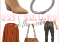 Houston top fashion blogger LuxMommy shares her weekly best sellers and blog recap