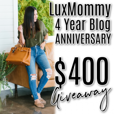 LuxMommy Blog Anniversary