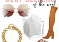 Houston top fashion blogger LuxMommy shares her best sellers of the week