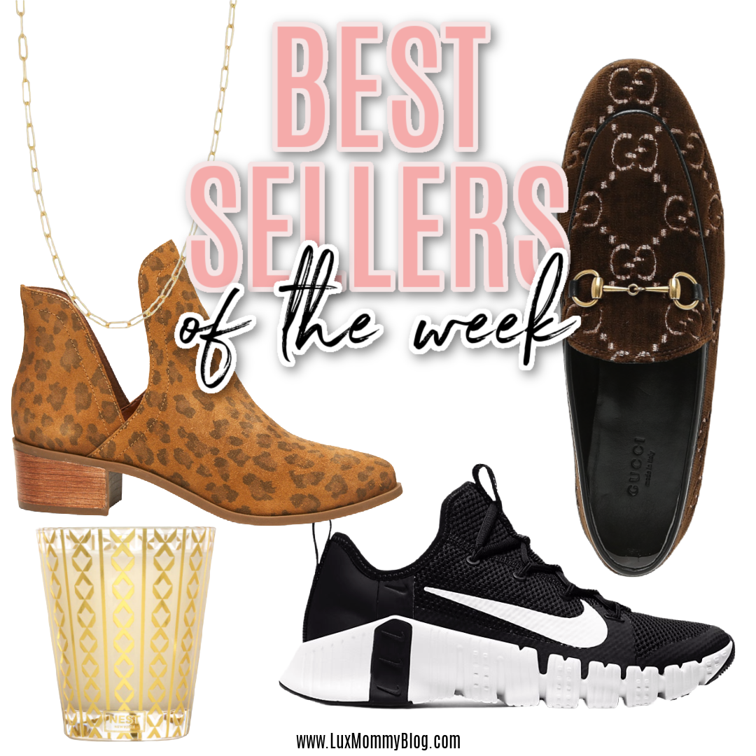Houston top fashion and lifestyle blogger, LuxMommy shares her weekly best sellers of the week
