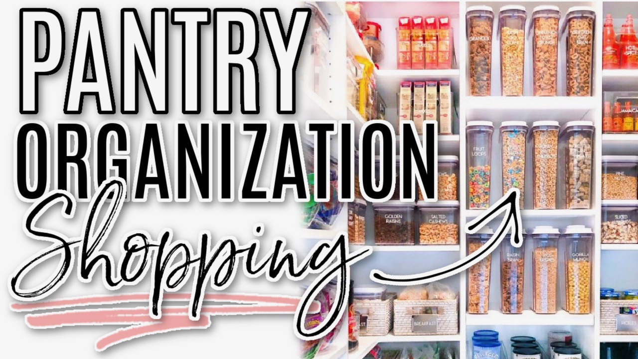 Pantry organization video