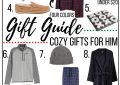 cozy gift guide for him