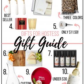 gift guide for hostessa