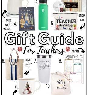 gift guide for teachers