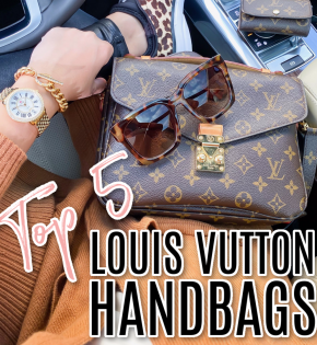 top 5 Louis Vuitton handbags