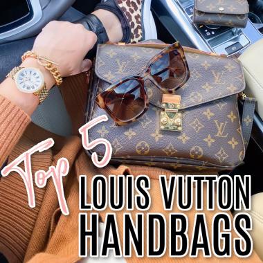 top 5 Louis Vuitton handbags