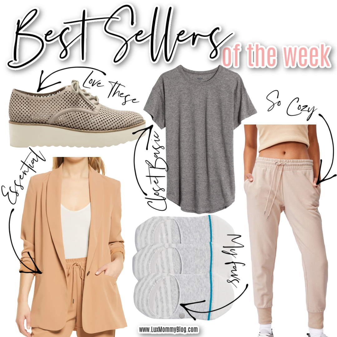 Houston top fashion and lifestyle blogger, LuxMommy shares the best sellers of the week