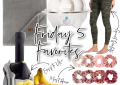 Houston top fashion blogger, LuxMommy shares the weekly Friday 5 favorites
