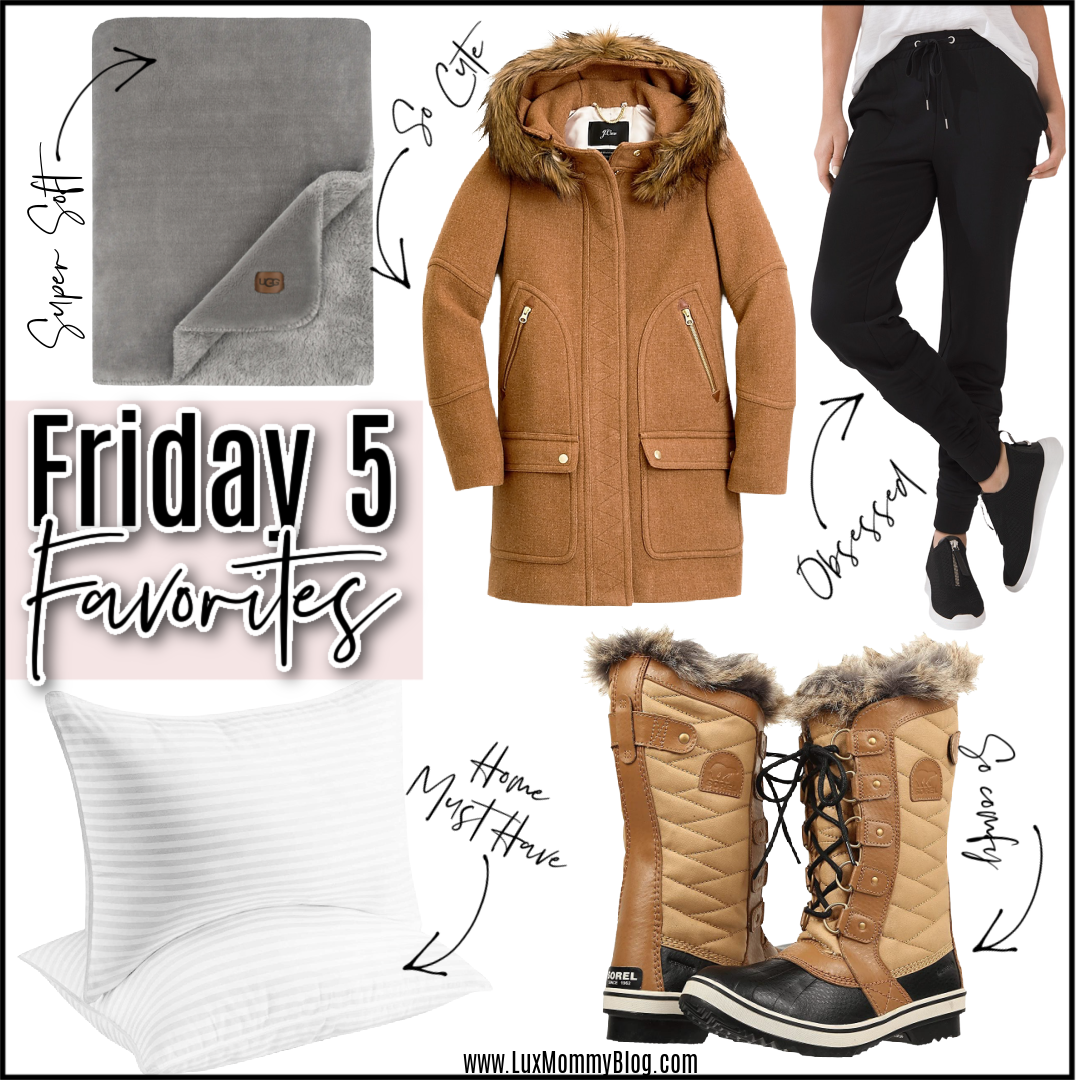 Houston top fashion blogger LuxMommy shares the weekly Friday 5 favorites