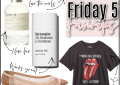 Houston fashion blogger LuxMommy shares the weekly Friday 5 favorites