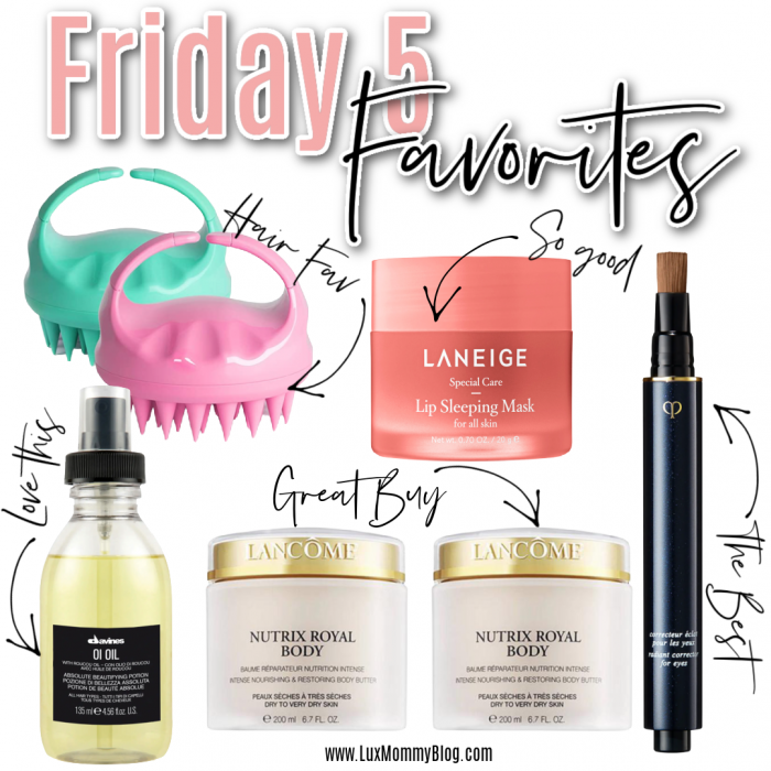 Houston top fashion blogger shares the weekly Friday 5 favorites