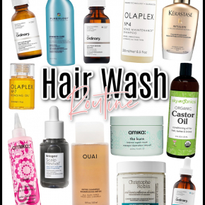 Houston top fashion blogger LuxMommy shares her weekly hair wash routine