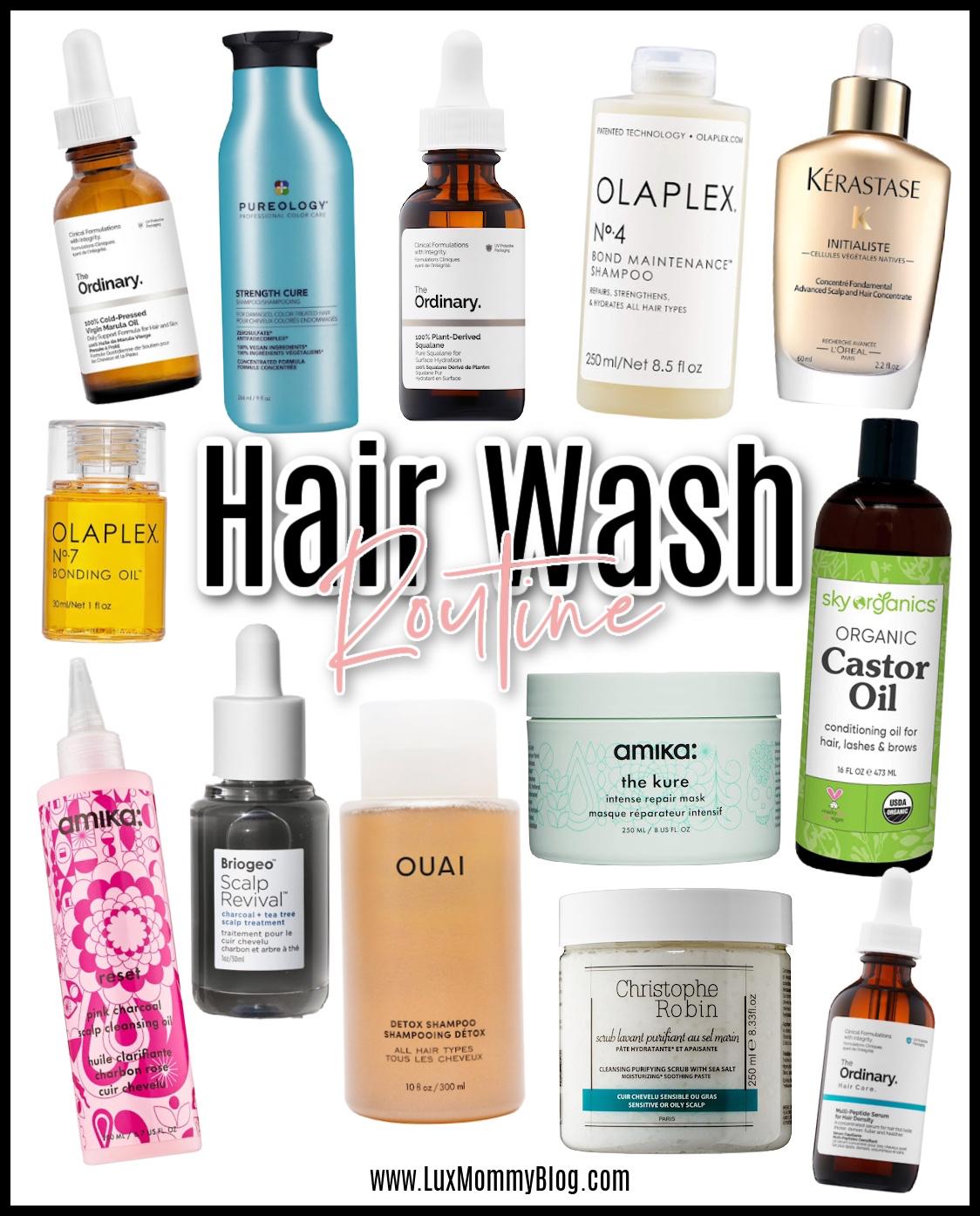 hair wash routine